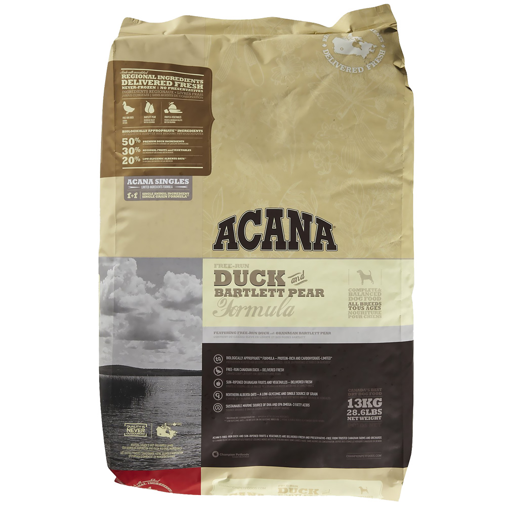 Acana Duck & Bartlett Pear (25 lb)