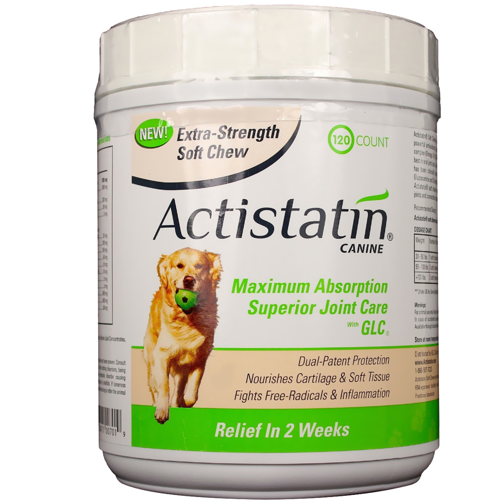 Actistatin Canine Extra Strength Soft Chews Large (120 ct)
