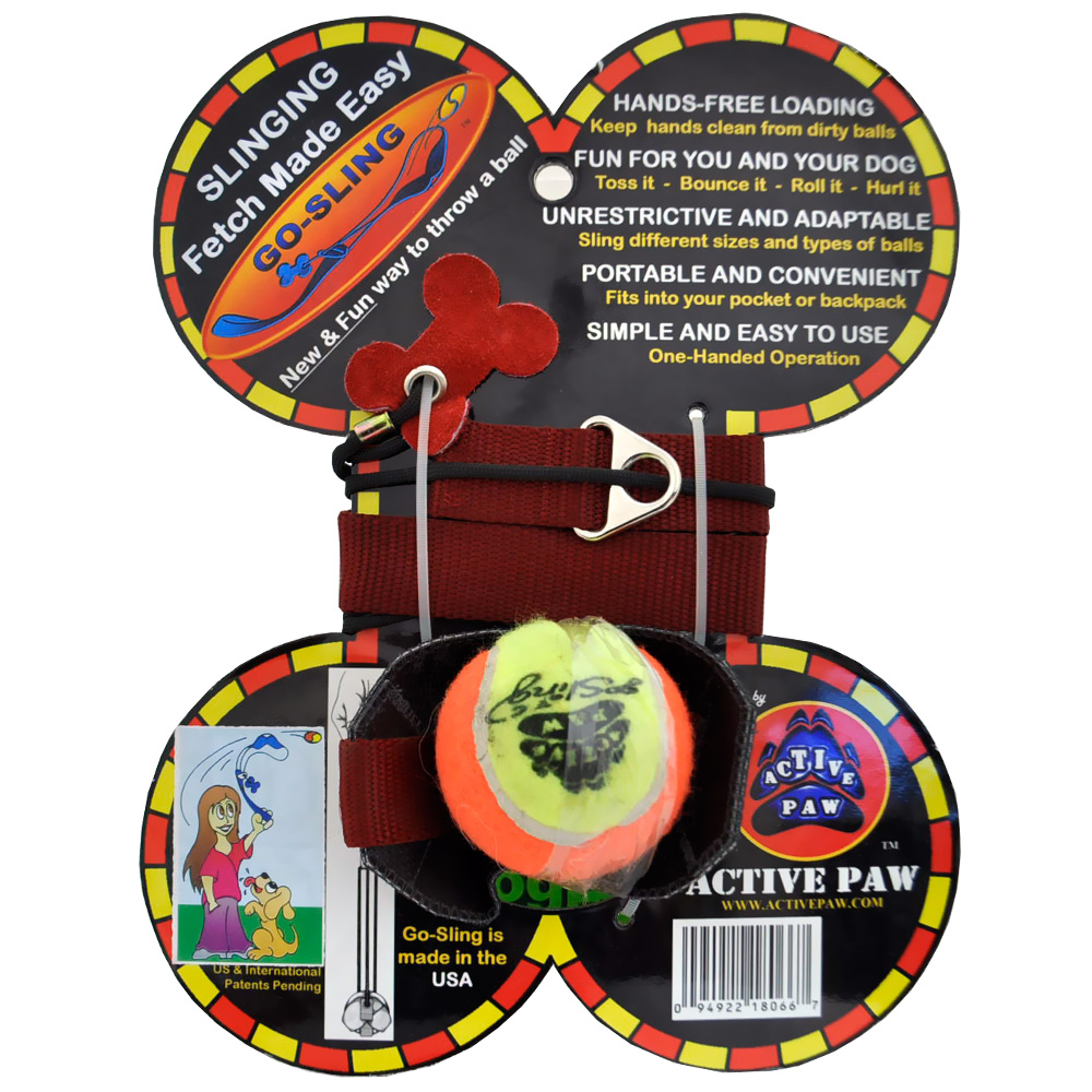 Active Paw Go-Sling Dog Toy