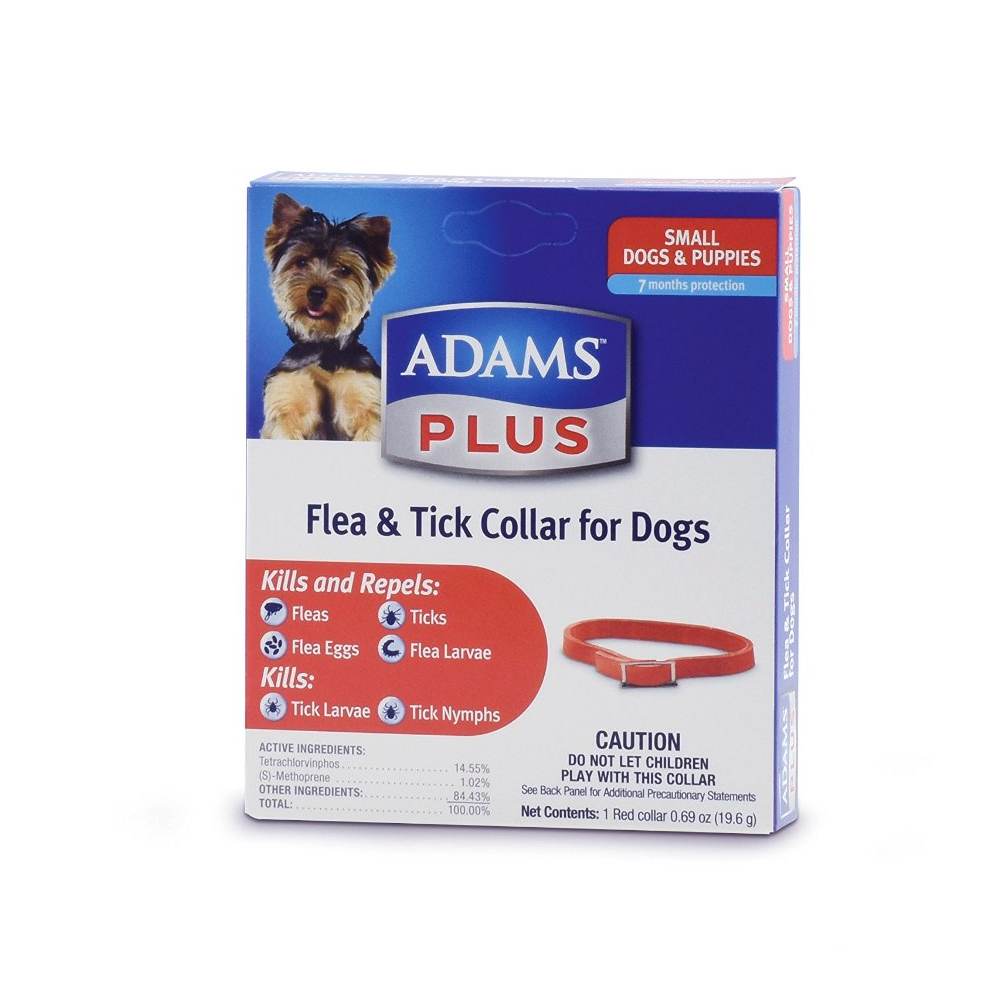 Adams Plus Flea Amp Tick Collar For Small Dogs Entirelypets