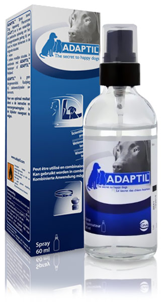 ADAPTIL (DAP) Dog Appeasing Pheromone Spray (60ml)
