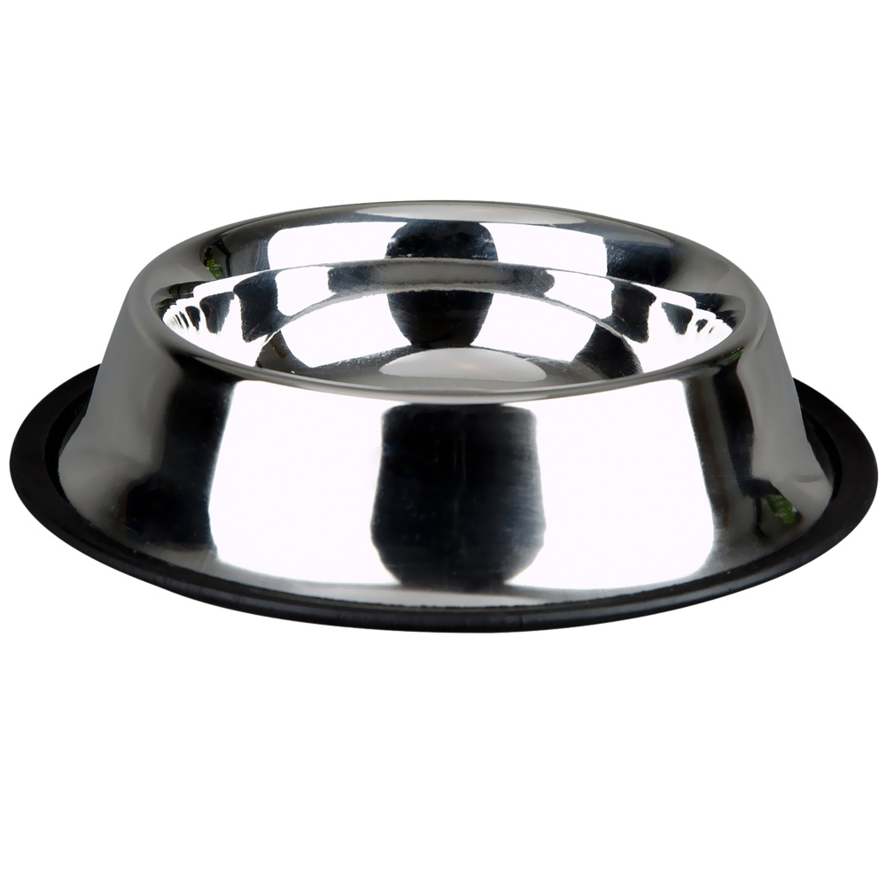 Advance Pet Products Non-Skid Stainless Steel Dish (16 oz)