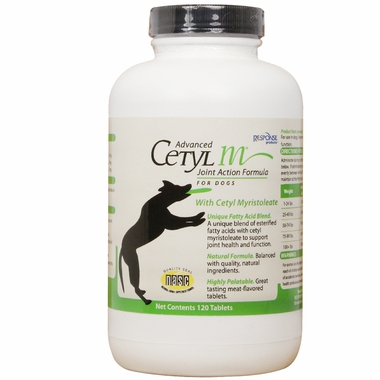 Advanced Cetyl M for Dogs (120 Tablets)