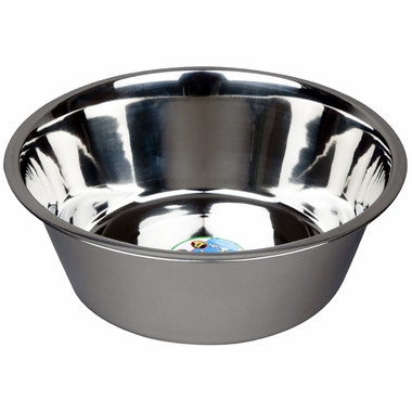 Advance Pet Products Stainless Steel Feeding Bowls (3 Quart)