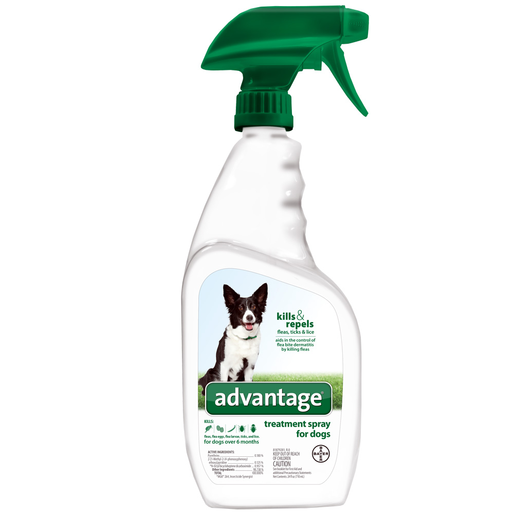 Advantage Treatment Spray for Dogs (24 oz)