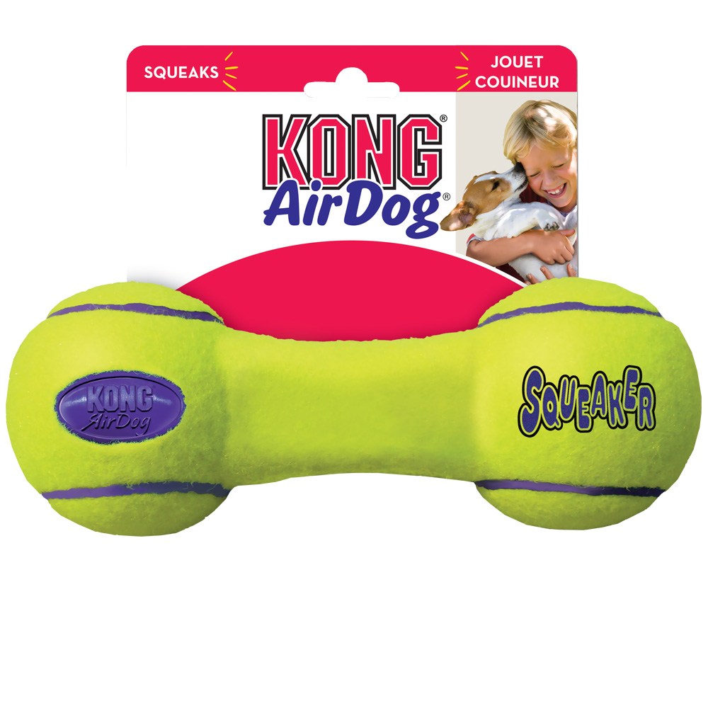 Air KONG Squeaker Dumbbell - LARGE