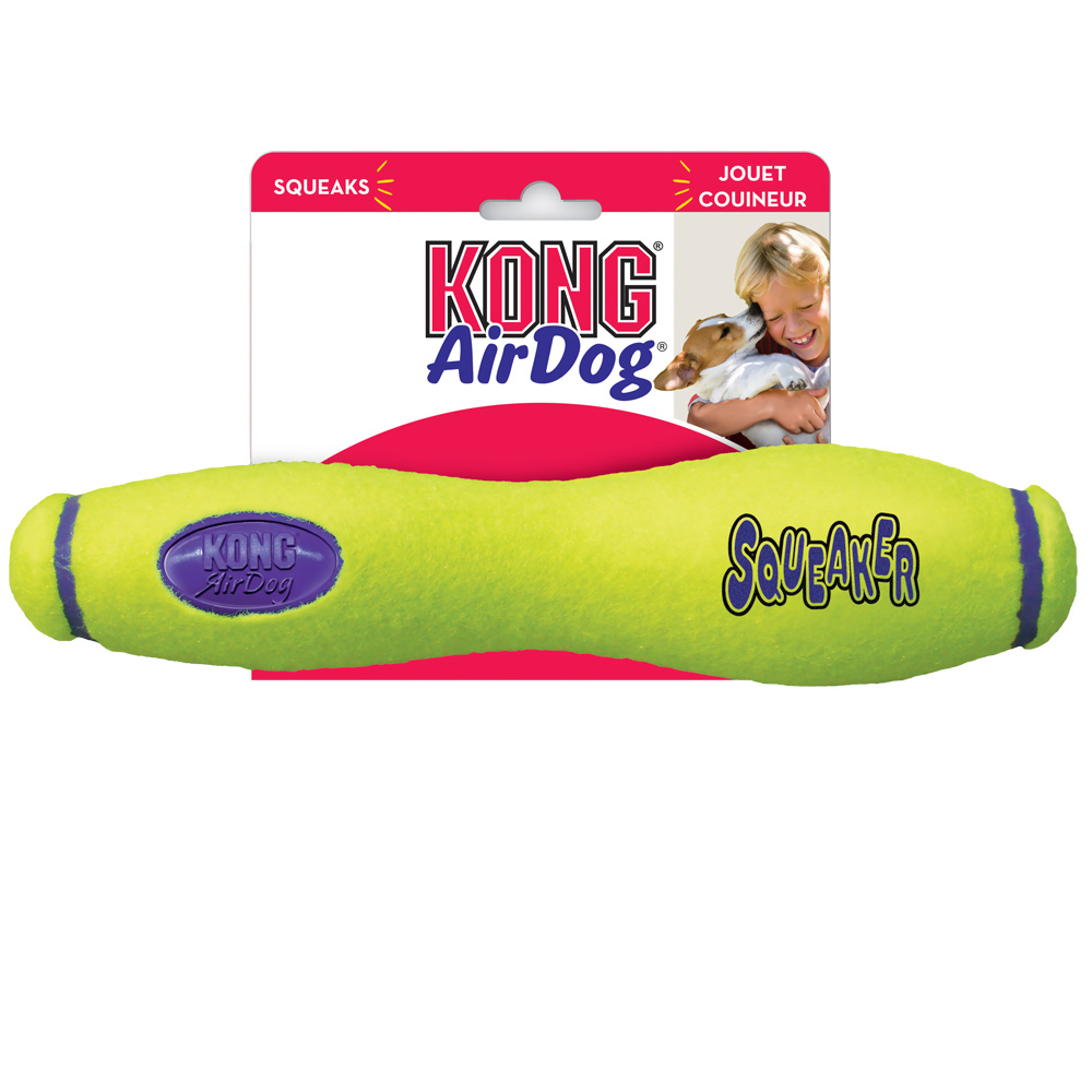 Air KONG Squeaker Fetch Stick - MEDIUM