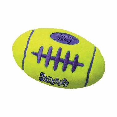 Air KONG Squeaker Football - LARGE