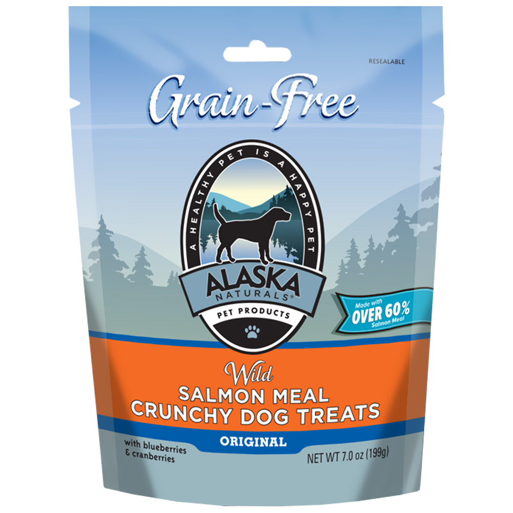 Alaska Naturals Wild Alaska Salmon Crunchy Dog Snacks (3 oz)
