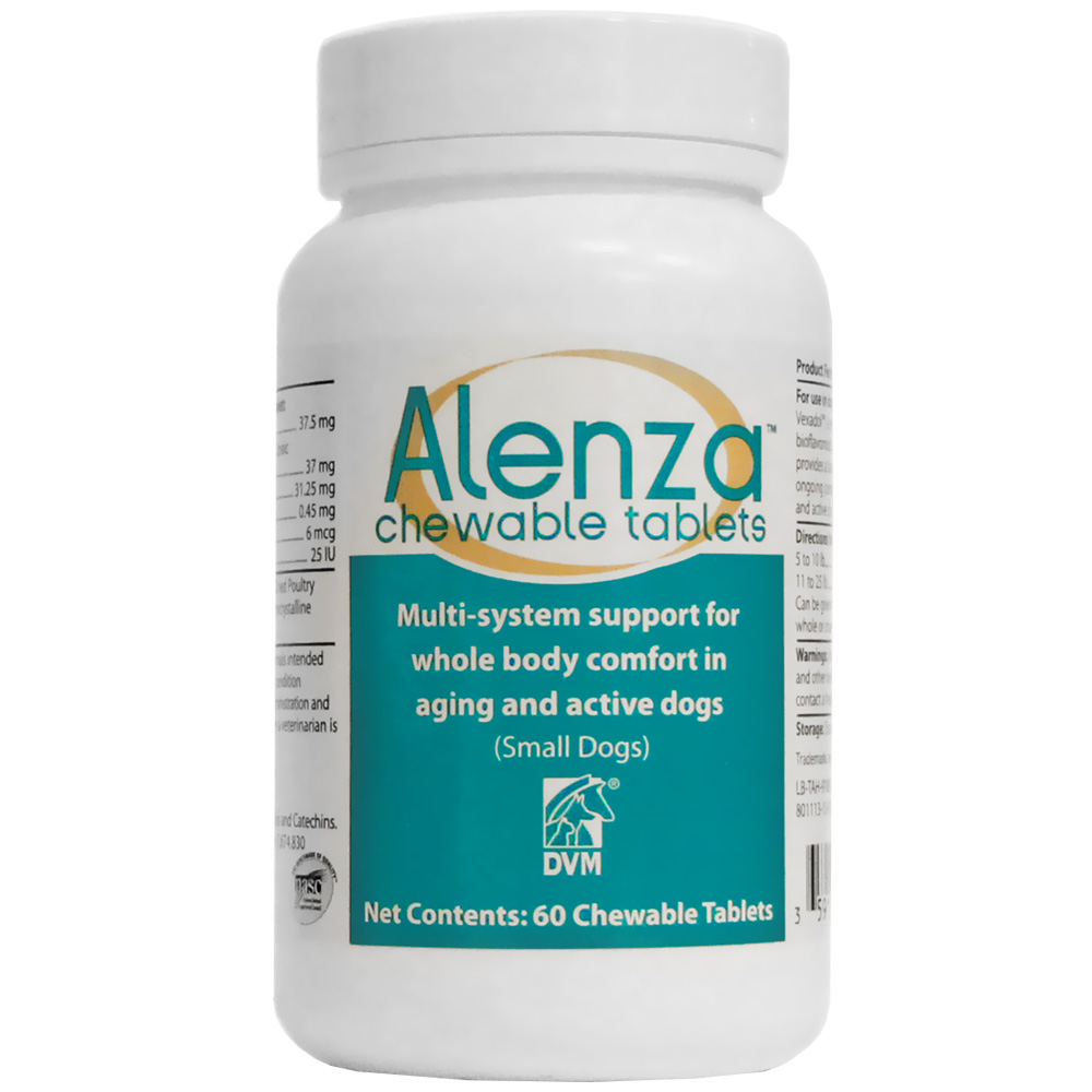 Alenza Chewable Tablets - Small Dogs (60 count)