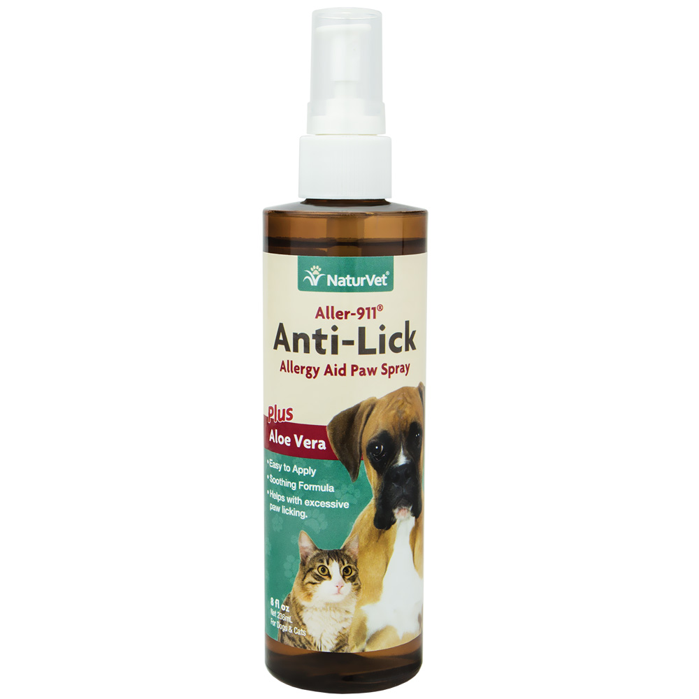 Allergy Anti-Lick Paw Spray (8 oz)