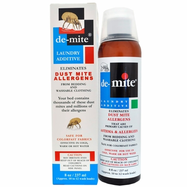 Allerpet De-Mite Laundry Additive (8 fl oz)