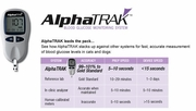 Alphatrak  Blood Glucose Monitoring System, AlphaTrak