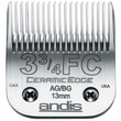 Andis UltraEdge Clipper Blade - Size 3 3/4FC