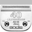Andis UltraEdge Clipper Blade - Size 40SS