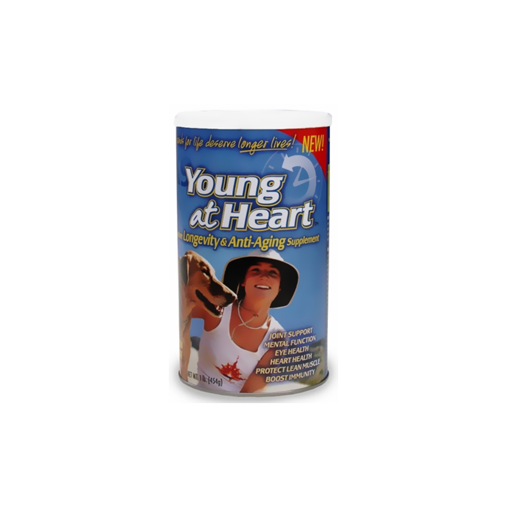 Animal Naturals K9 Young At Heart - Longevity & Anti Aging - 1 lb.
