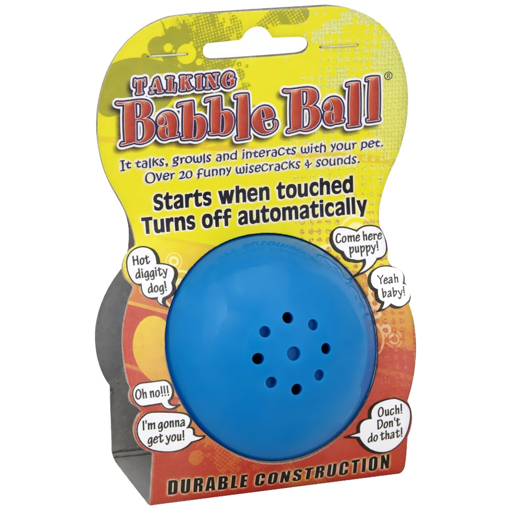Animal Sounds Babble Ball - SMALL 2 1/8