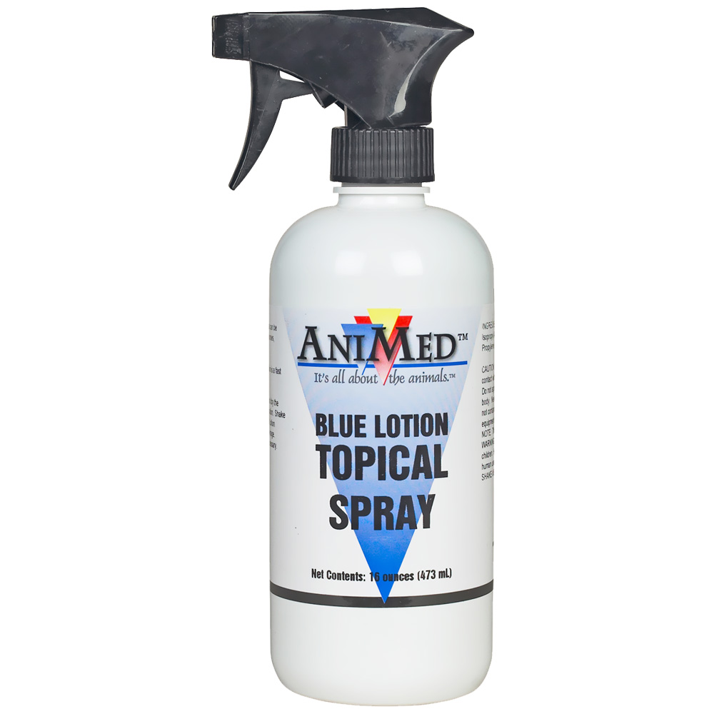 AniMed Blue Lotion (16 oz)