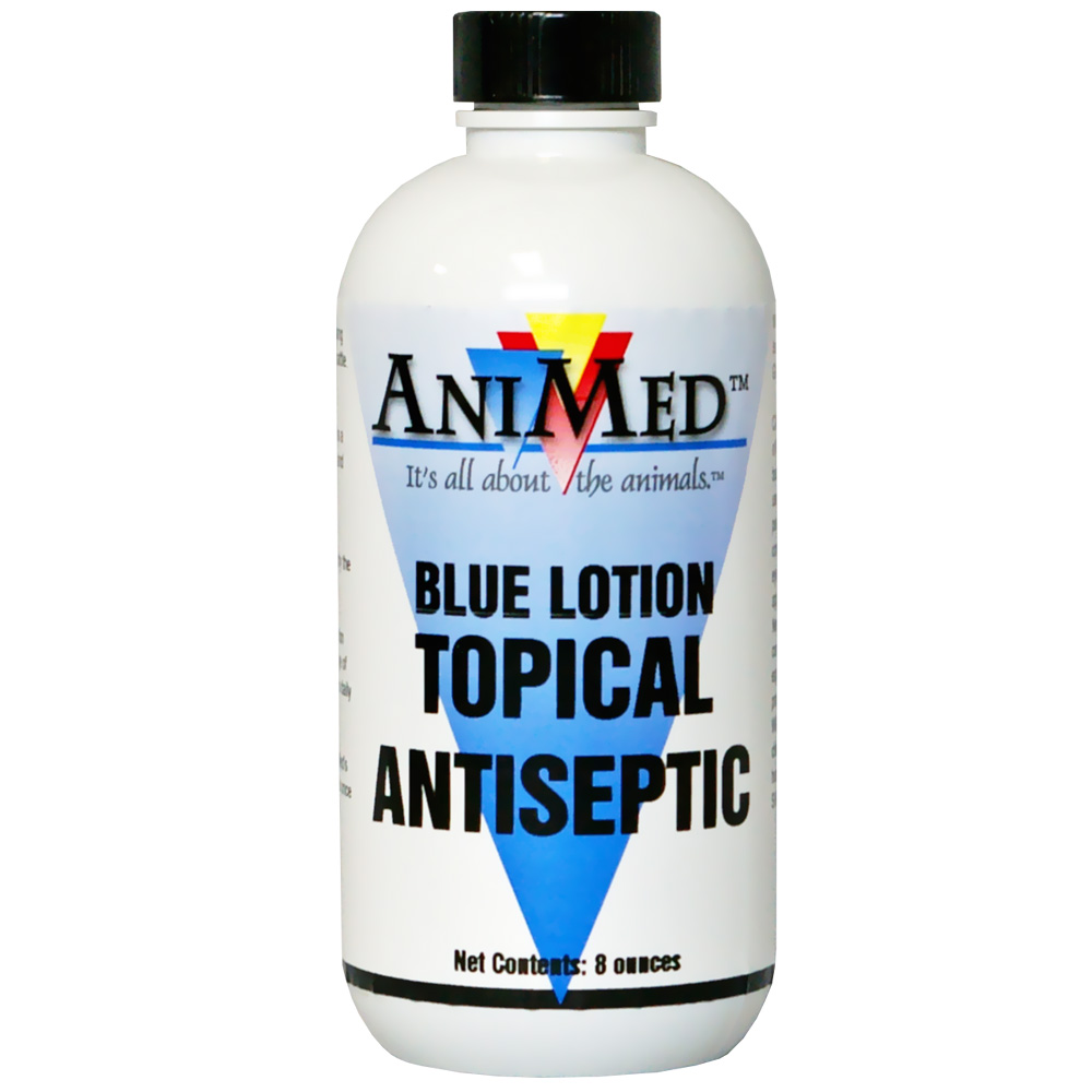 AniMed Blue Lotion (8 oz)