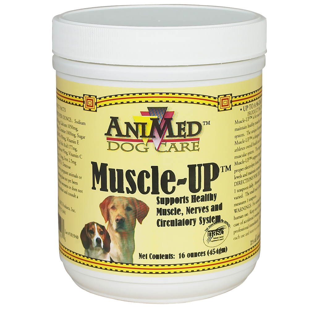 Animed Muscle-up Powder (16oz)