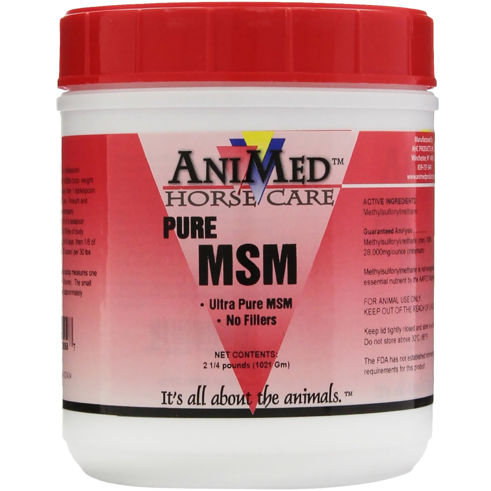 AniMed Pure MSM Dietary Supplement (2.5 lbs)