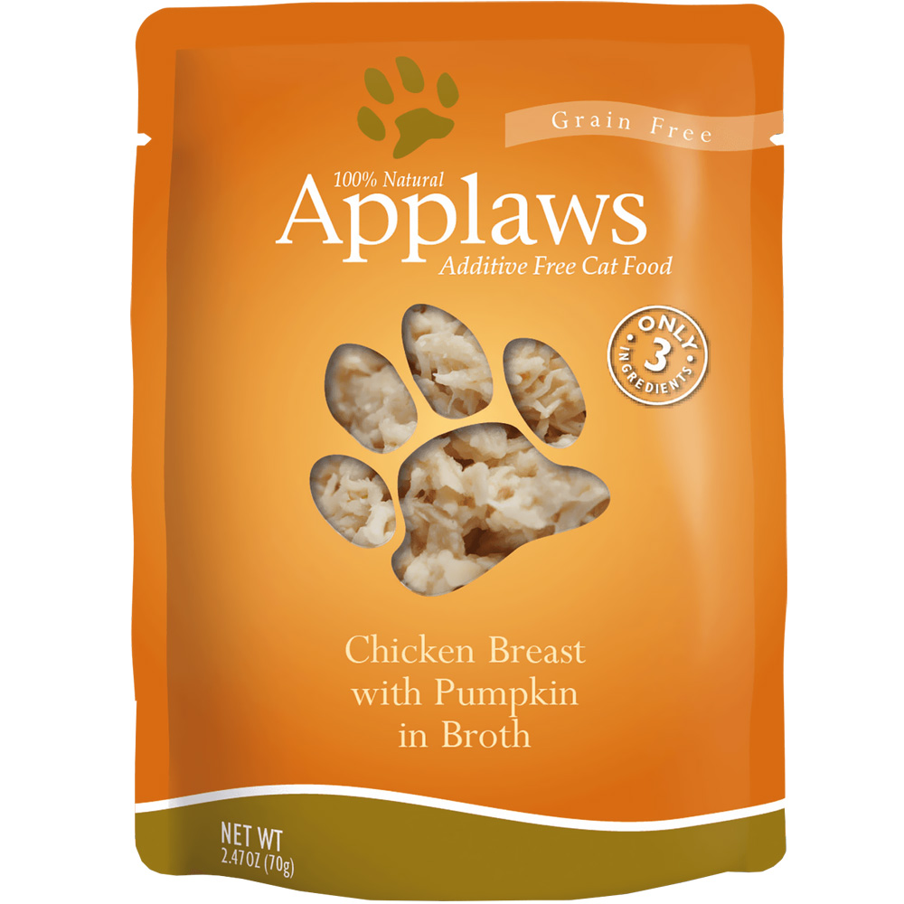 Applaws Chicken Breast with Pumpkin in Broth (2.47 oz)
