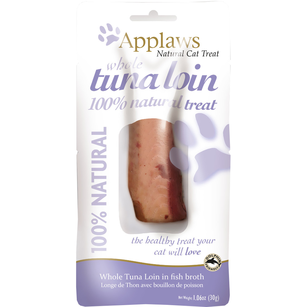 Applaws Natural Cat Treat Tuna Loin in Fish Broth (1.06 oz)