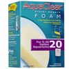 AquaClear 20 Filter Insert Foam