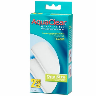 AquaClear Quick Filter Replacement Cartridge for A575 (2 pack)