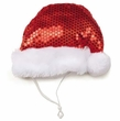 Aria Sequin Santa Hat - Large