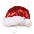 Aria Sequin Santa Hat - Medium