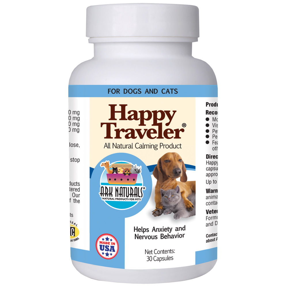 Ark Naturals Happy Traveler (30 Capsules)
