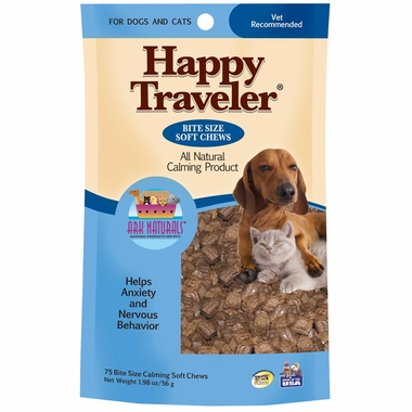 Ark Naturals Happy Traveler Bite Size Soft Chews (75 count)