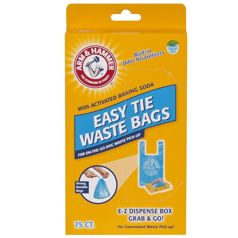 Arm & Hammer Easy-Tie Waste Bags (75 Count)