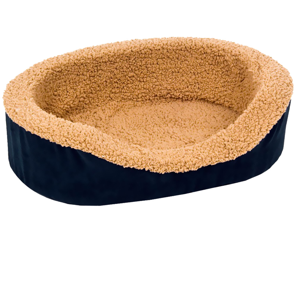Aspen Pet Lounger Asst Plush/Suede (23