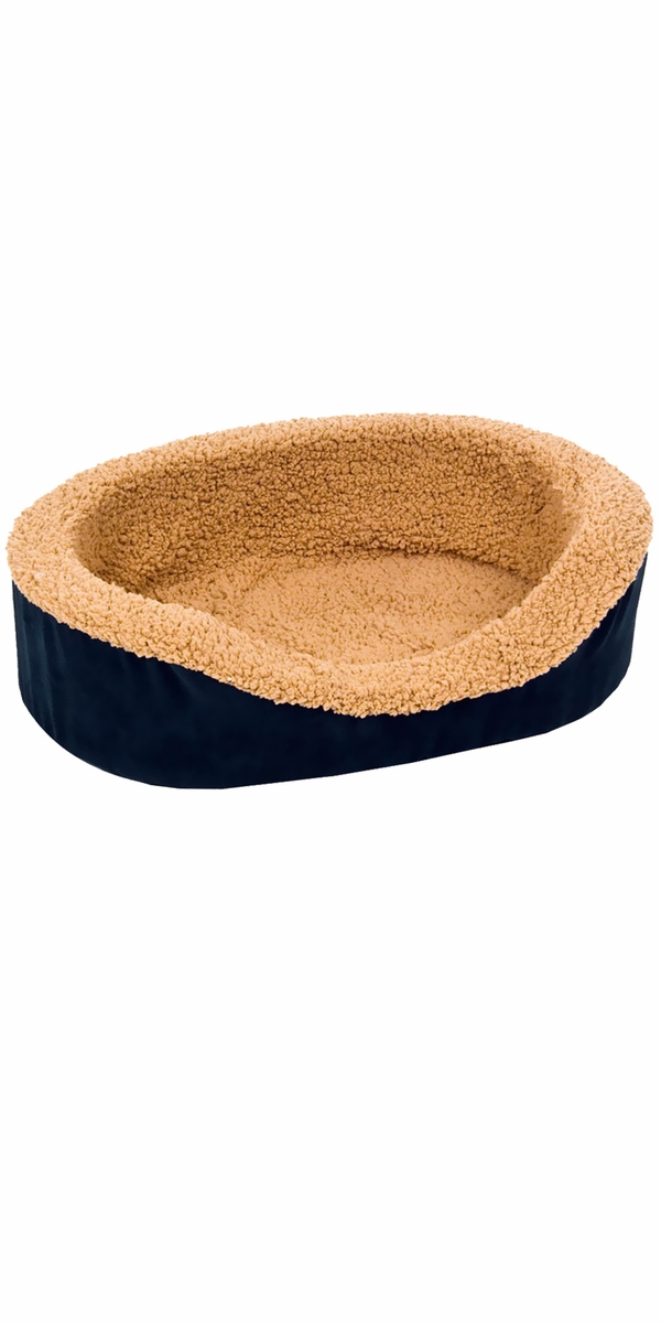 "Aspen Pet Lounger Asst Plush/Suede (23"" x 17"" x 7"") - Assorted Colors"