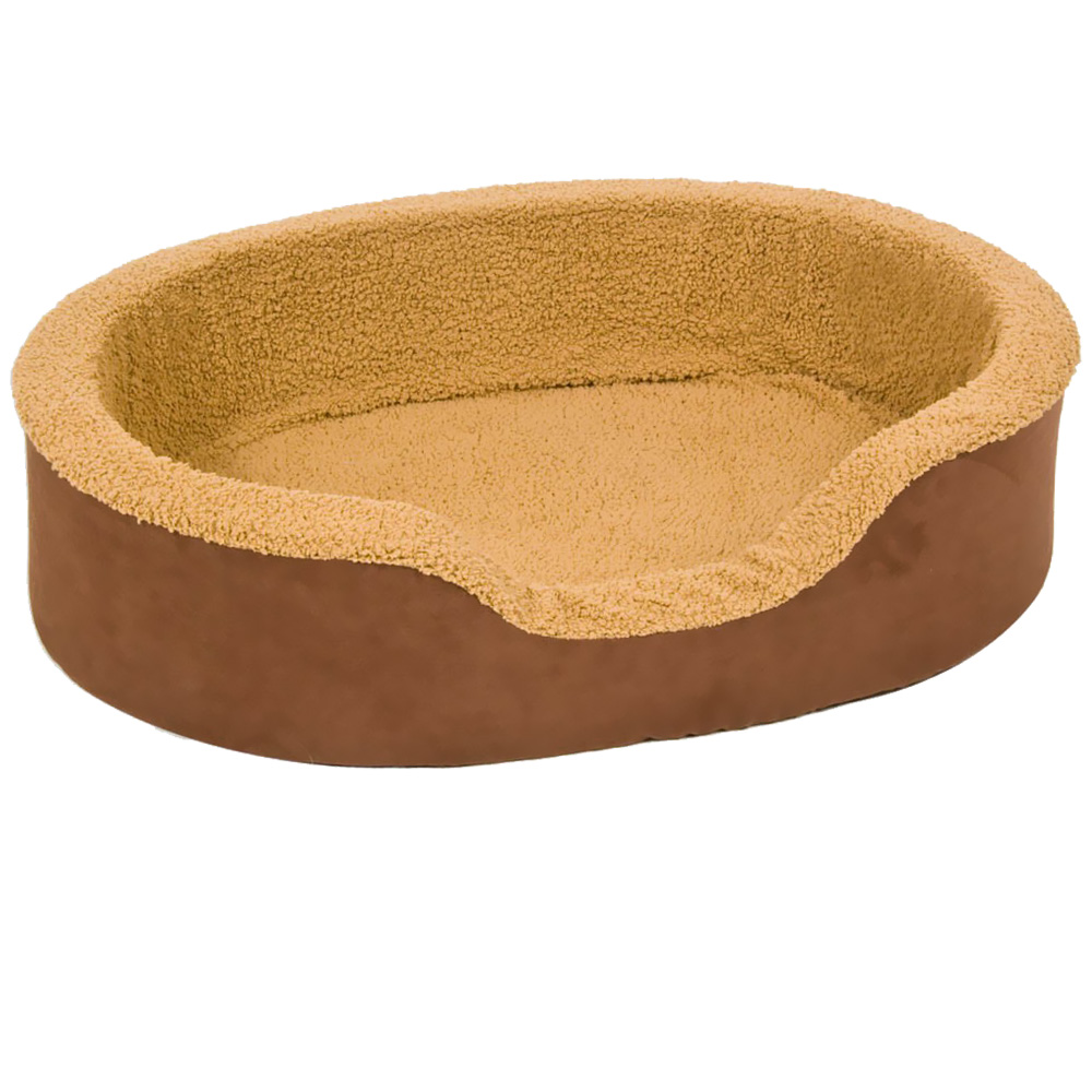 Aspen Pet Lounger Plush/Suede (28