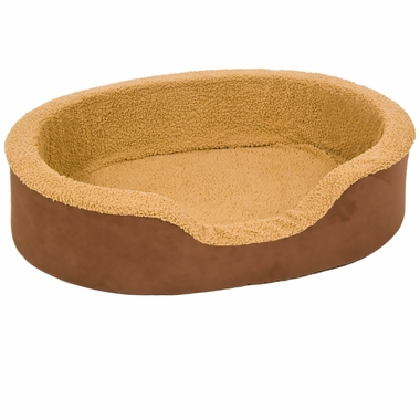 Aspen Pet Lounger Plush/Suede (36
