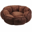"Aspen Pet Puffy Round Cat Bed (18"") - Assorted Colors"