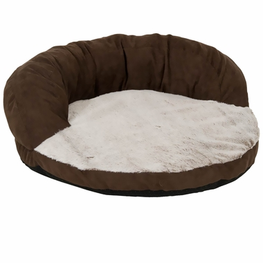 Aspen Pet Round High Back Bolster (23