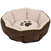 "Aspen Pet Sculptured Round Bed (18"") - Assorted Colors"