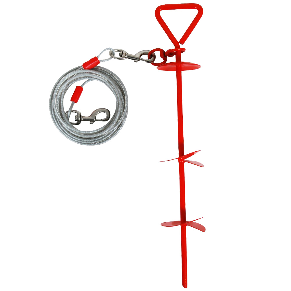 Aspen Pet Stake XLarge with 20 Feet Tieout