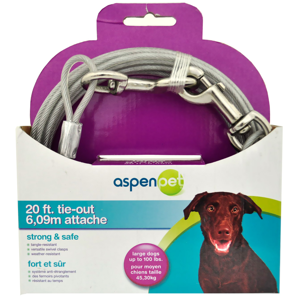 Aspen Pet Tieout Large 20'