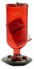Avant Garden Red Antique Bottle Hummingbird Feeder (16 oz capacity)