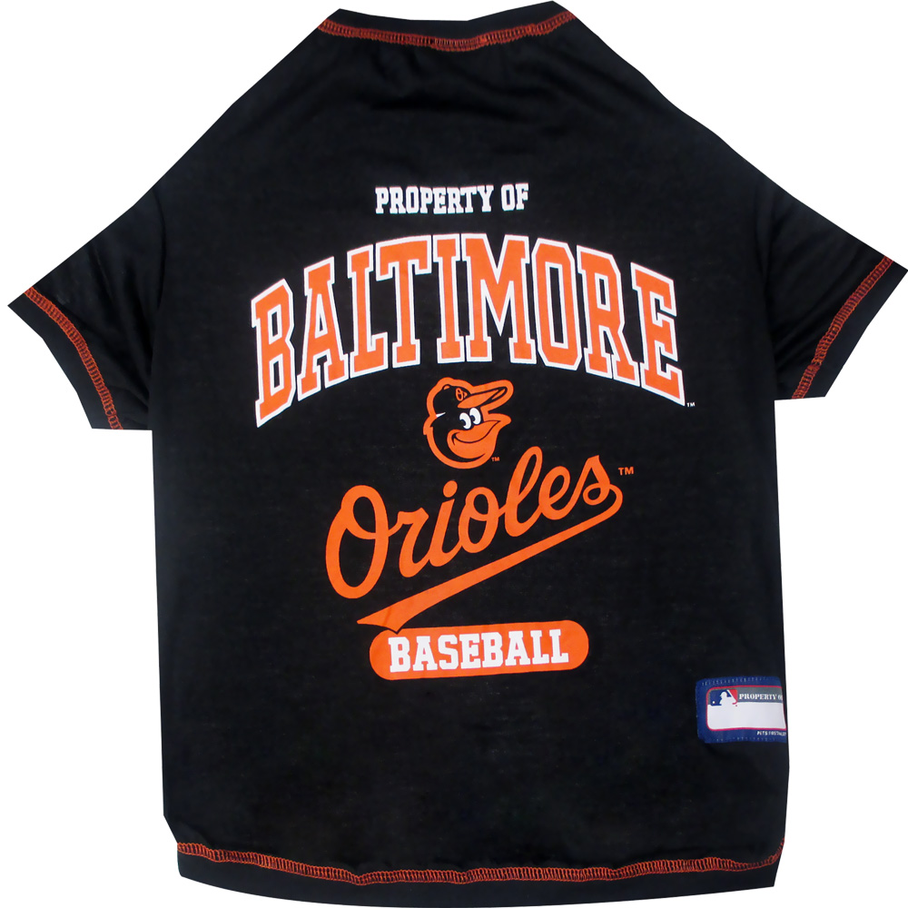 Baltimore Orioles Dog Tee Shirts