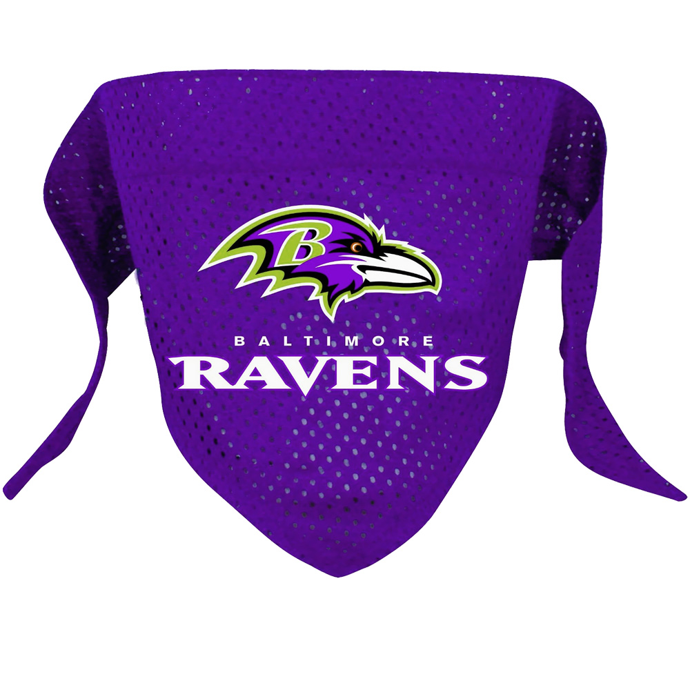Baltimore Ravens Dog Bandanas