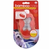 Bamboo Dog body brush with shampoo applicator