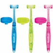 Bamboo Quadbrush for Cats with Holder - Assorted
