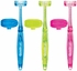 Bamboo Quadbrush for Dogs with Holder - Assorted (Large)