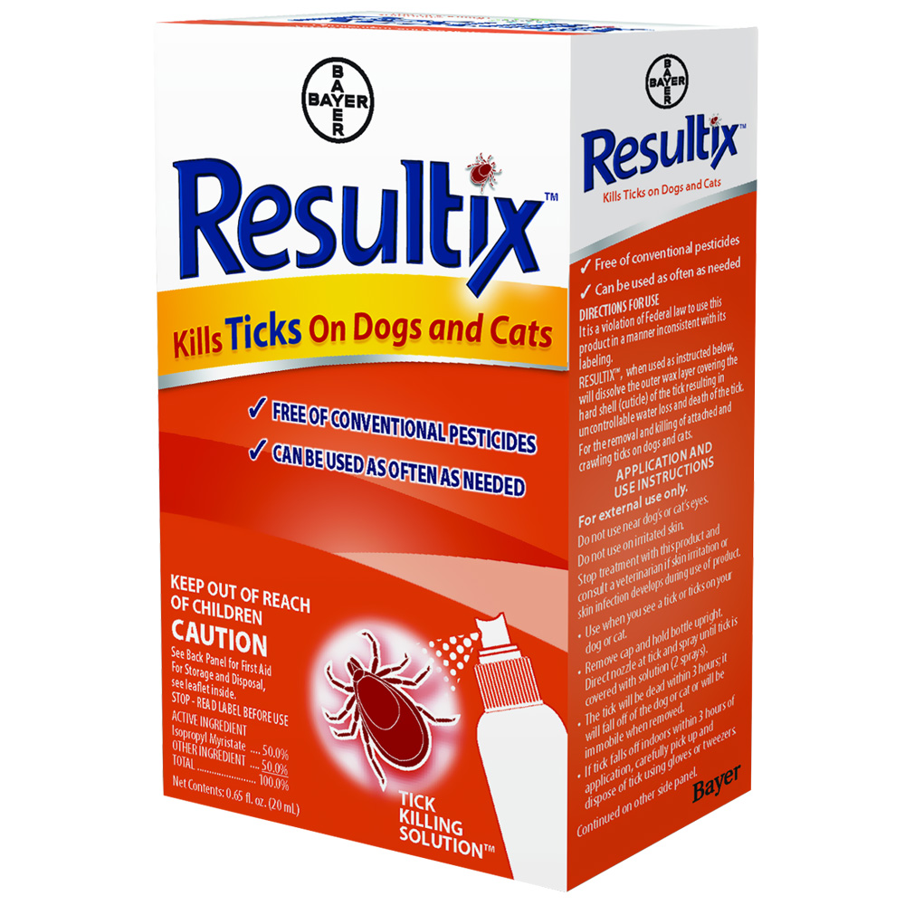 Bayer Resultix Tick Spray (0.65 oz)